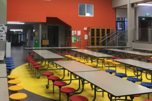 construction school canteen