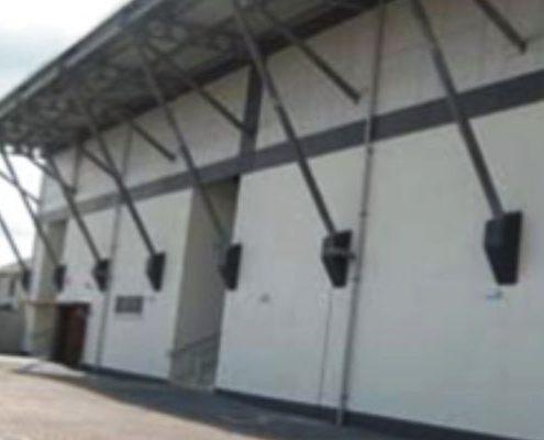 construction stadium stand GAA