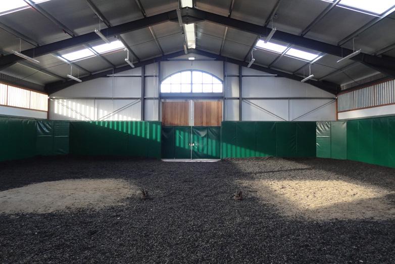 construction equestrian stud